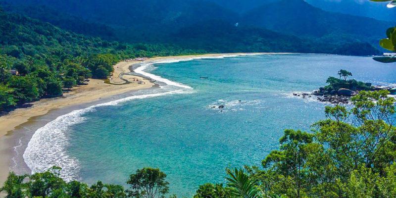 Conheca a Praia de Castelhanos em Ilhabela