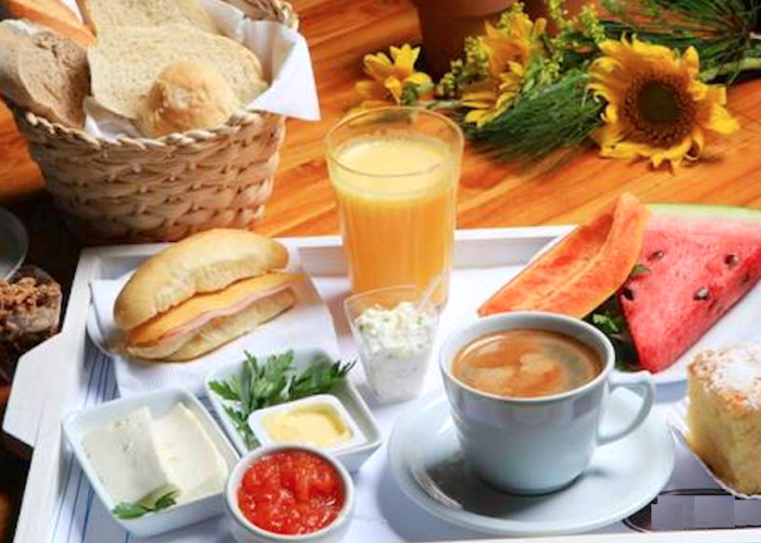 Banseja café da manhã velinn