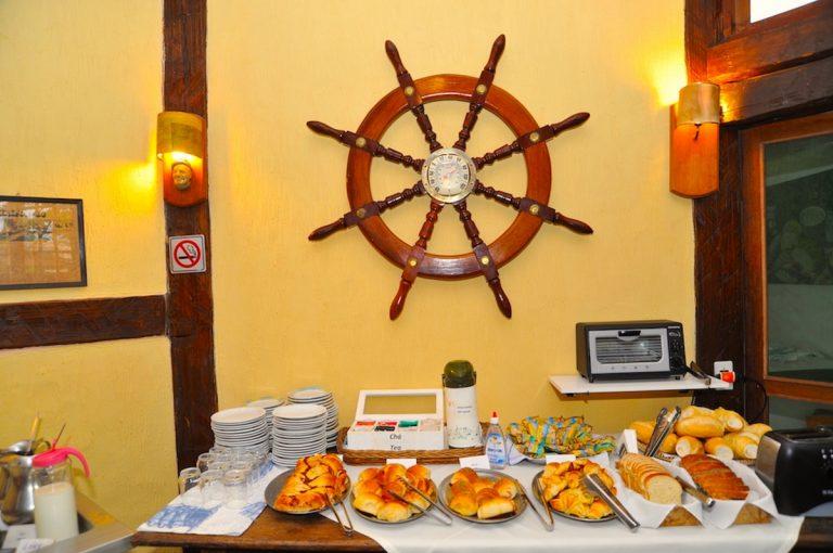 Café da manhã Velinn Pousada dos Marinheiros 6