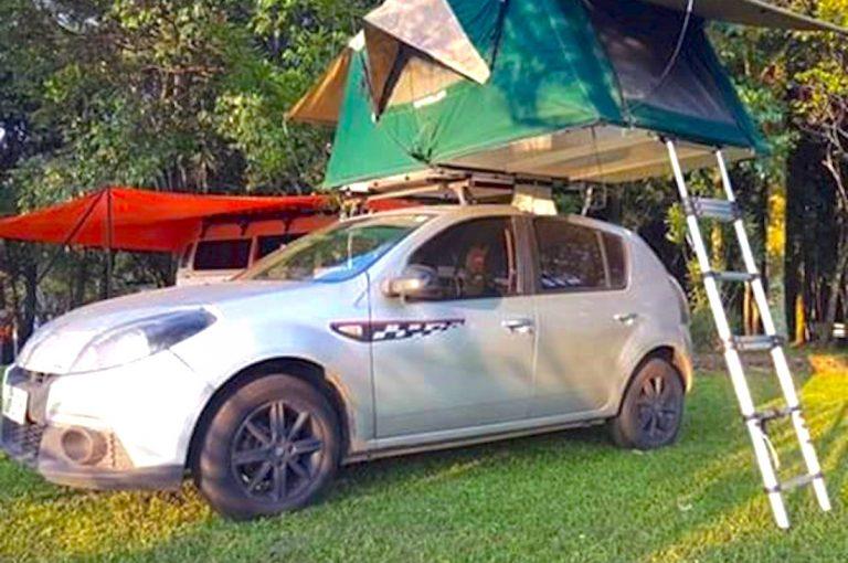 Velinn Camping Ilhabela Barraca automotiva 7