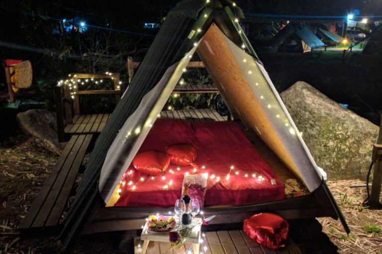 Velinn Camping Ilhabela Cabana com kit 47 1