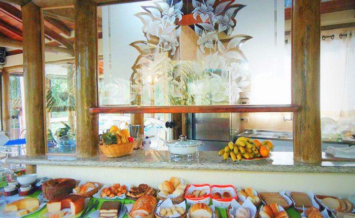 Velinn Caravela Hotel Santa Tereza Ilhabela Cafe 4