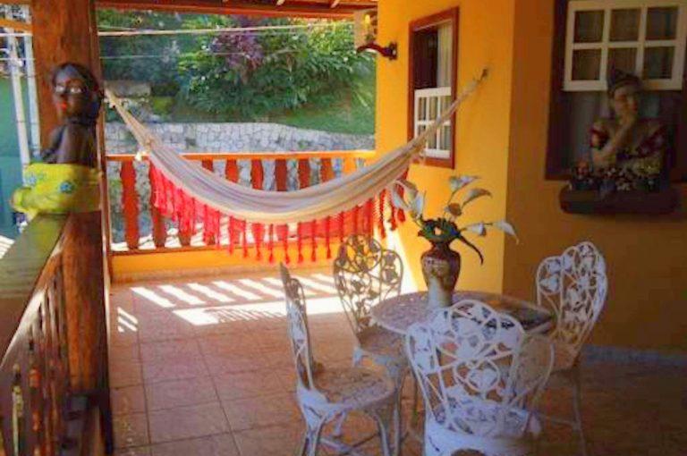 Velinn Caravela Hotel Santa Tereza Ilhabela Varanda 1