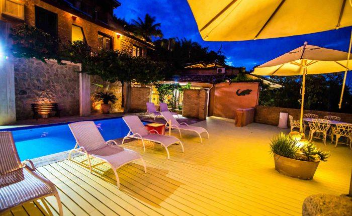 Velinn Hotel Maison Joly piscina noite 5