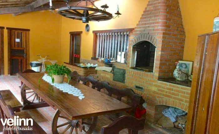 Velinn Hotel Santa Tereza Ilhabela Area Gourmet 2