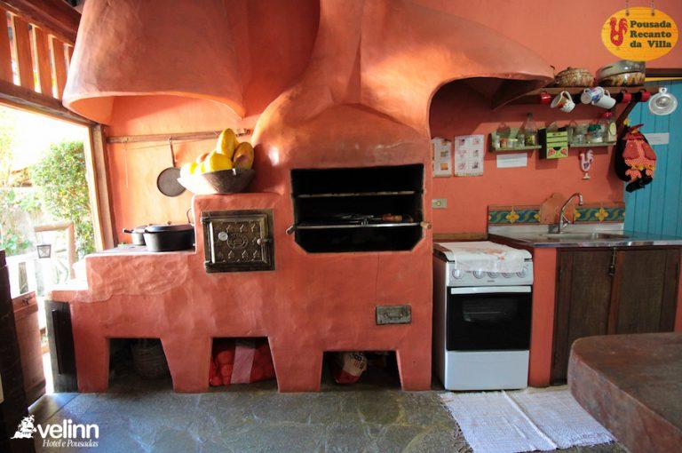 Velinn Pousada Recanto da Villa Ilhabela Área Gourmet