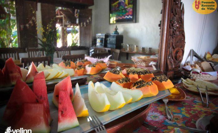 Velinn Pousada Recanto da Villa Ilhabela Café da Manhã 4