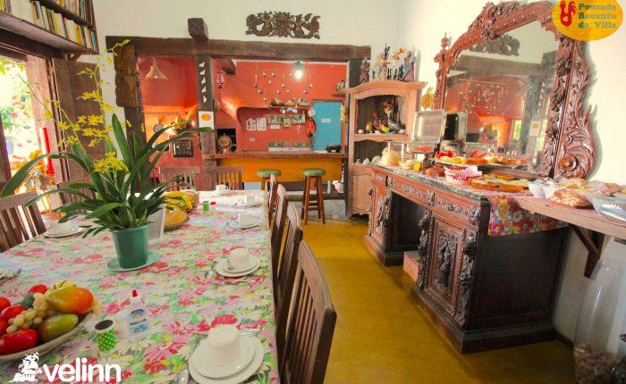 Velinn Pousada Recanto da Villa Ilhabela Café da Manhã 7