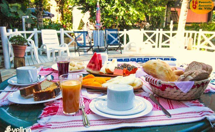 Velinn Pousada Recanto da Villa Ilhabela Café da Manhã 9