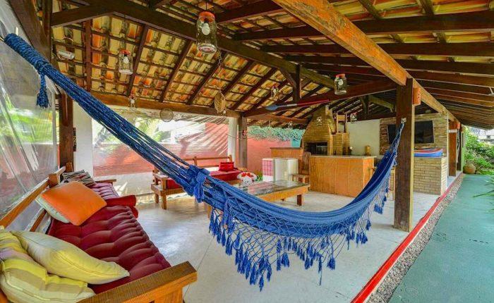 Velinn Pousada Villa Caiçara area de lazer