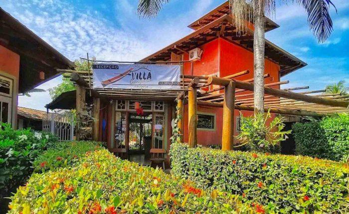 Velinn Pousada Villa Caiçara entrada