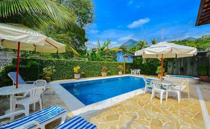 Velinn Pousada Villa Caiçara piscina 6