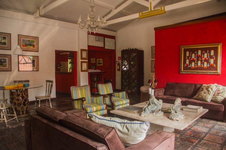 Velinn Pousada dos Hibiscos Sala de estar