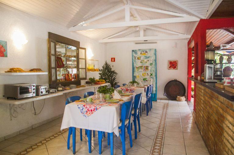 Velinn Pousada dos Hibiscos sala Cafe da manha