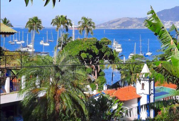 Velinn Pousada recanto da villa ilhabela vista
