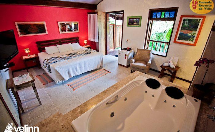 Velinn Pousada recanto da villa ilhabela 127 Super Luxo
