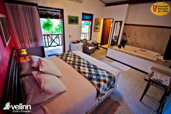 Velinn Pousada recanto da villa ilhabela 131 Super Luxo