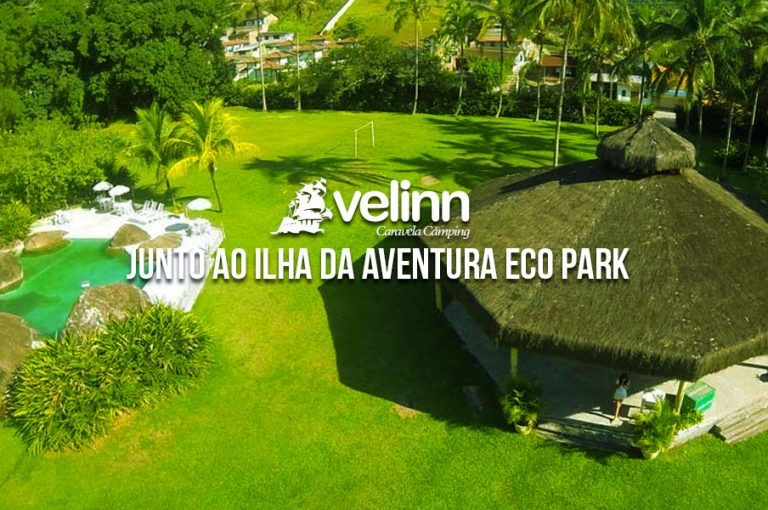 velinn caravela camping eco park ilha da aventura banner